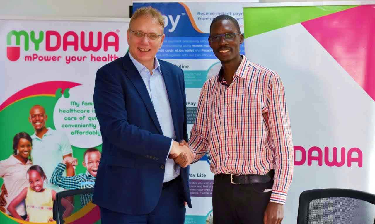 MYDAWA, iPay partner to provide better health services with fintech