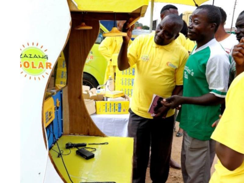 Azuri launches paygo solar satellite tv in Zambia