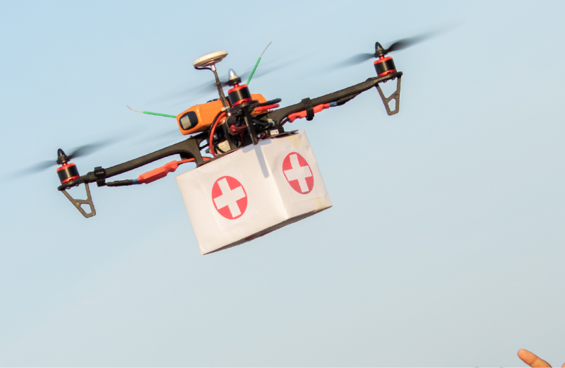 Drone-Based  COVID Sample Collection Undergoes Trial In Uganda